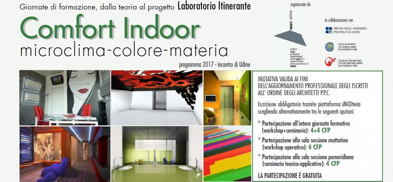 Comfort Indoor - Microclima, Colore, Materia